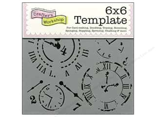 The Crafters Workshop Template 6x6 Time Travel