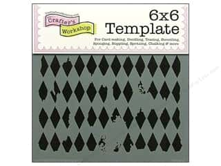 Templates Craft & Hobbies: The Crafter's Workshop Template 6 x 6 in. Harlequin