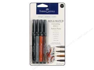Faber Castell FaberCastell Stampers Big Brush Pen: FaberCastell Pitt Artist Pen Mix & Match Set Journaling