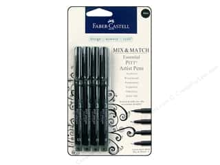 Faber Castell FaberCastell Accessories: FaberCastell Pitt Artist Pen Mix & Match Set Essential