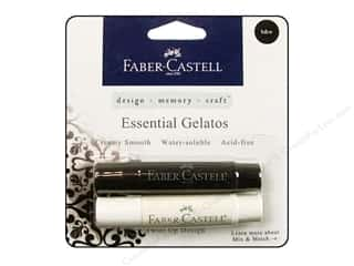 Faber Castell Scrapbooking & Paper Crafts: FaberCastell Gelatos Color Set 2 pc. Black & White