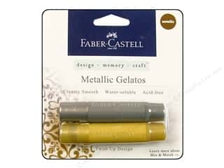 FaberCastell Gelatos Color Set 2 pc. Metallic Gold & Silver