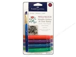 Experiment, The: FaberCastell Gelatos Color Set 4 pc. Metallic