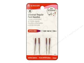 Singer Singer Machine Needle: Singer Regular Point Machine Needles Universal Size 16 4 pc.