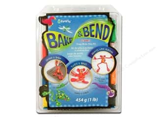 Clay & Modeling Projects & Kits: Sculpey SuperFlex Bake & Bend Clay Kit