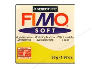 Art, School & Office Fimo Soft Clay 56gm: Fimo Soft Clay 56gm Lemon