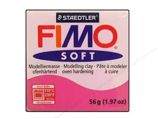 Fimo Art Accessories: Fimo Soft Clay 56gm Raspberry