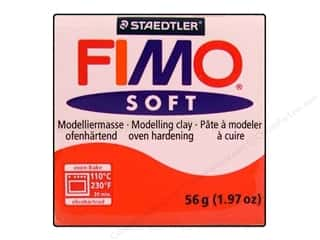 Fimo Art Accessories: Fimo Soft Clay 56gm Indian Red