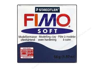 Clay Blue: Fimo Soft Clay 56gm Windsor Blue