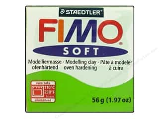 Fimo Art Accessories: Fimo Soft Clay 56gm Apple Green