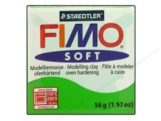 Fimo Art Accessories: Fimo Soft Clay 56gm Tropical Green
