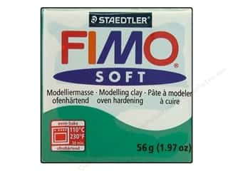 Fimo Art Accessories: Fimo Soft Clay 56gm Emerald