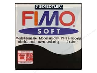 Fimo Art Accessories: Fimo Soft Clay 56gm Black