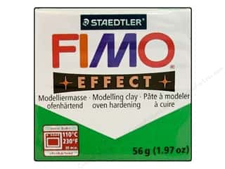 Glitter Clay & Modeling: Fimo Soft Clay 56gm Glitter Green