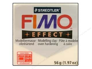 Clear: Fimo Soft Clay 56gm Transparent White