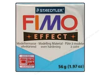 Clay Blue: Fimo Soft Clay 56gm Transparent Blue