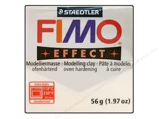 Glitter Clay & Modeling: Fimo Soft Clay 56gm Glitter White