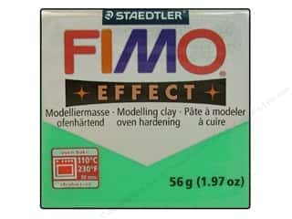 Craft & Hobbies Clear: Fimo Soft Clay 56gm Transparent Green