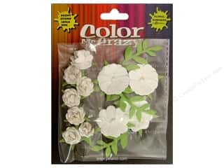 Petaloo Color Me Crazy Mini Rose Cluster Assorted 11pc