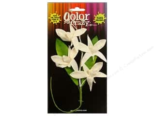 Flowers / Blossoms Petaloo Color Me Crazy: Petaloo Color Me Crazy Orchid Spray Madame Cesar 7pc