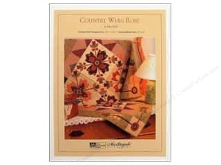 Clearance K&Co Mat Pad 4.75x6.75: Country Whig Rose Pattern