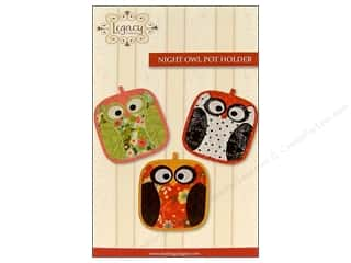 Legacy Patterns: Legacy Night Owl Pot Holder Pattern