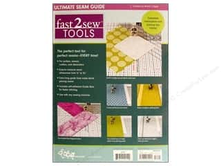C&T Publishing Sewing Notions Fast 2 Sew Ultimate Seam Guide