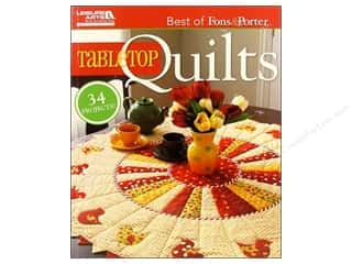 Leisure Arts Table Top Quilts Book