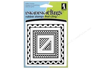 Inkadinkado Stamp Inkadinkaclings Big Squares