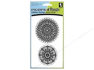 Inkadinkado Stamp Inkadinkaclings Lace Doilies