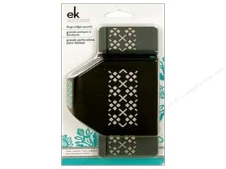 EK Success Clearance Crafts: EK Paper Shapers Large Edger Punch Argyle