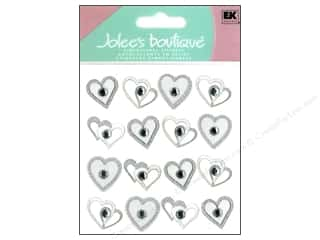 Jolee&#39;s Boutique Stickers Repeats Wedding Hearts