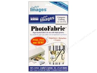 "Blumenthal Crafter's Images PhotoFabric 4""x 6"" Cotton Canvas 12pc"