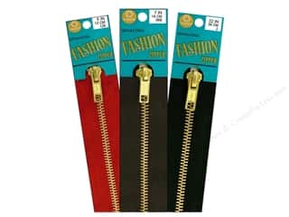 C&C Closed Bottom Fashion Brass Zipper