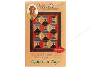 Quilt in a Day: Quilt In A Day Diamond Studded Courthouse Pattern