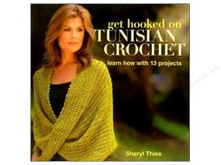 crochet books: Get Hooked On Tunisian Crochet Book