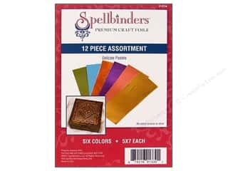 Spellbinders Premium Craft Foil Delicate Pastels 12 pc.