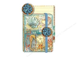 Punch Studio Journal Pocket Brooch Ocean Treasure