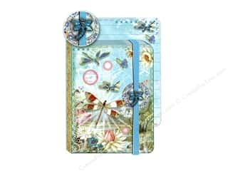 Punch Studio Journal Pocket Brooch Firefly Blue