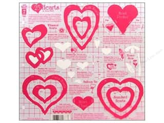 Clearance Spellbinders Presto Punch Template: Hot Off The Press Templates 12x12 Hearts
