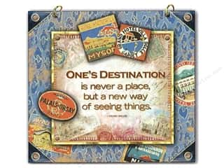 Punch Studio Decorative Plaque Destination
