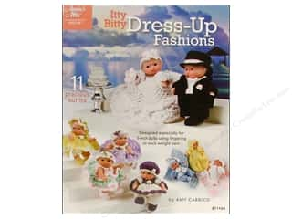 Annie's Attic Itty Bitty Dress-Up Fashions Book
