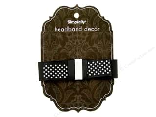 Simplicity Headband Decor Bow Grosgrain 2