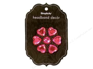 "Hair 5"": Simplicity Hair FHeadband Decor lower Jewel Stone"