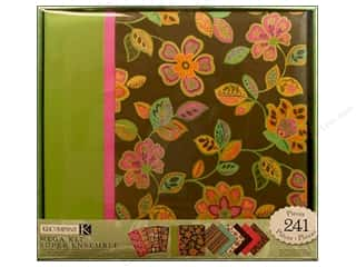 K&Co Scrapbook Kit 12x12 Mega Pink And Brown