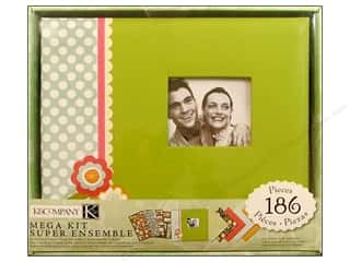 K&Co Scrapbook Kit 8.5x8.5 Mega Fruit & Flower