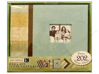 K&amp;Co Scrapbook Kit 8.5x8.5 Mega Family
