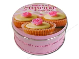 Valentines Day Gifts: Cupcake Coasters Gift Tin