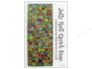 Quiltsillustrated.com Jelly Roll Patterns: Tiger Lily Press Jelly Roll Quick Step Pattern
