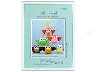 Susie C Shore Designs Children: Susie C Shore Who Knew Pattern